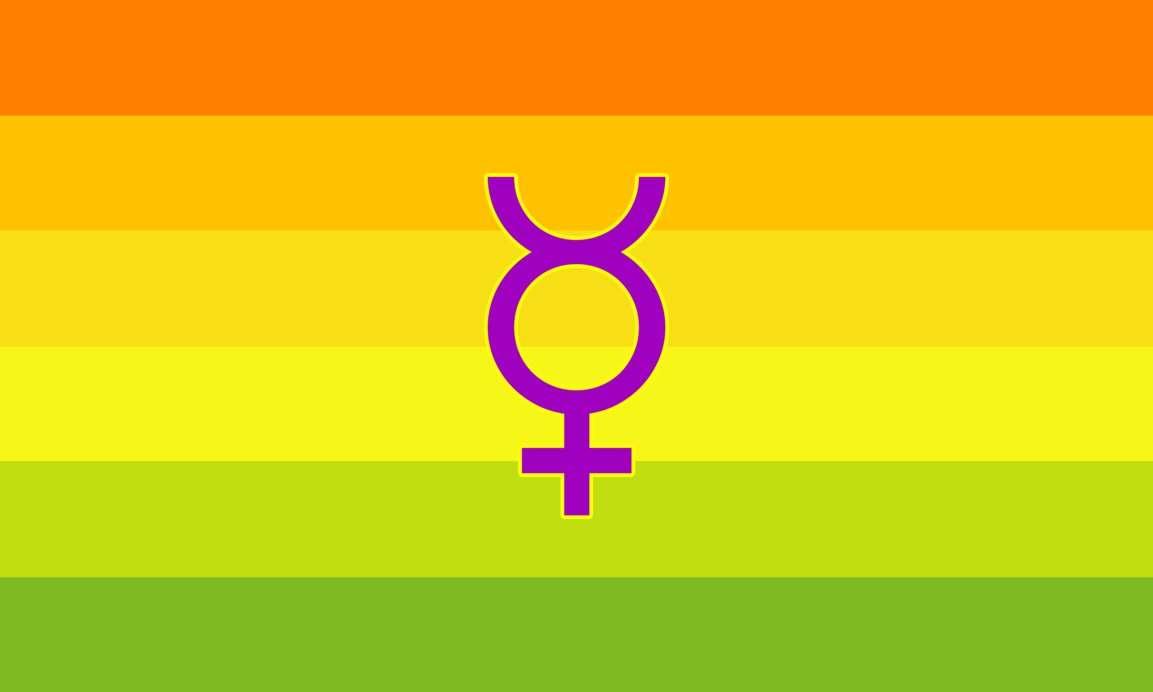 Hermaphrodite Flag | Rocky Mountain Flag Company