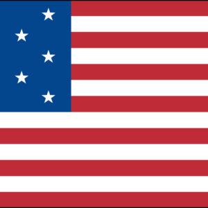 13-Star U.S. Flag