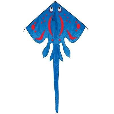 Blue Stingray Kite