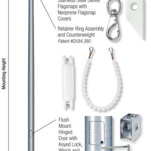 Xtreme Series Flagpole