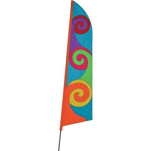 SoundWinds Pop Recumbent Bike Flag - Aqua