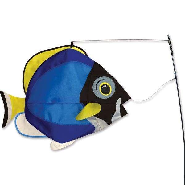 Swimming Fish - Powder Surgeon
