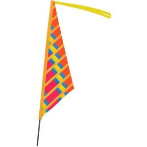 SoundWinds Sail Recumbent Bike Flag - Warm