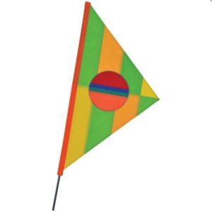 SoundWinds Phoebus Recumbent Bike Flag - Citrus