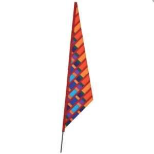 SoundWinds Garden Sail Recumbent Bike Flag - Orange
