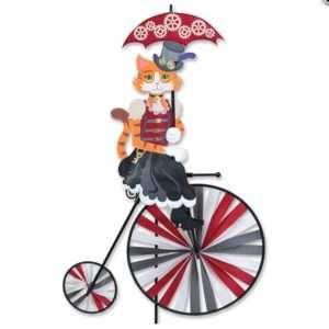 High Wheel Bike Spinner - Steampunk Kitty Cat