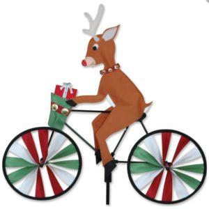 20 in. Bike Spinner - Reindeer