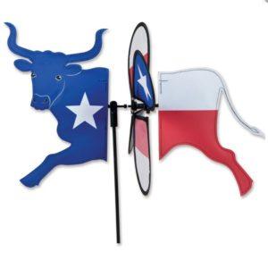 Petite Spinner - Texas Flag Longhorn