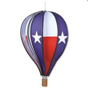 22 in. Hot Air Balloon - Texas Flag