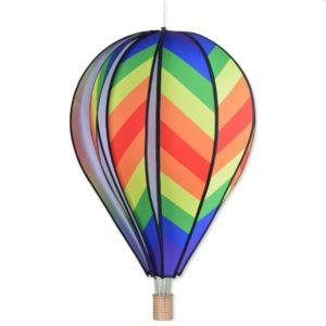 26 in. Hot Air Balloon - Traditional Rainbow