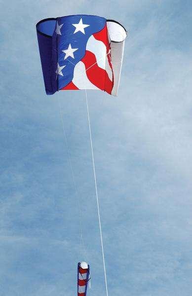 Power Sled 14 Kite - Patriotic