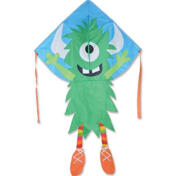 Large Easy Flyer Kite - Green Monster