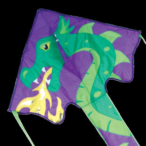 Large Easy Flyer Kite - Skylar Dragon