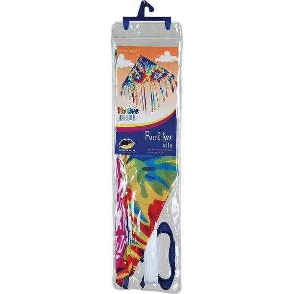 Fringe Delta Kite - Tie Dye