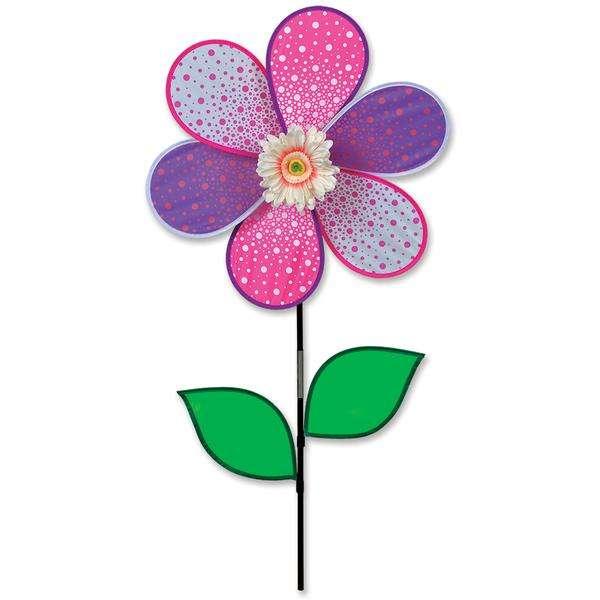 19 in. Pink Daisy Spinner (Bold Innovations)