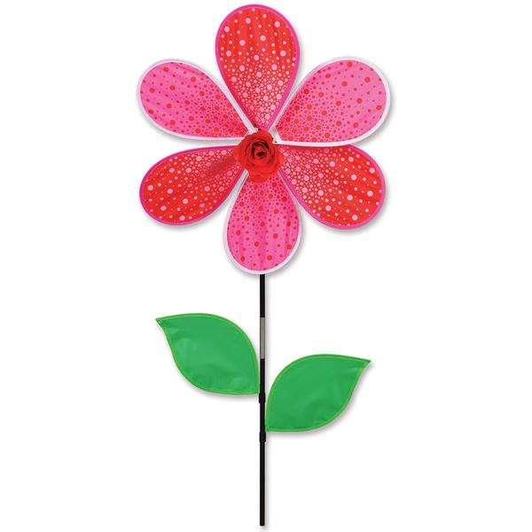19 in. Red Rose Spinner (Bold Innovations)