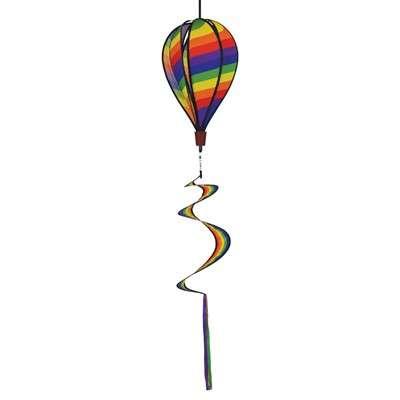 Rainbow Swirl 6 Panel Hot Air Balloon