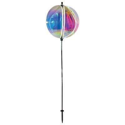 "Iridescent 16"" Gazing Ball Spinner"