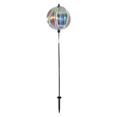 "Iridescent 11"" Gazing Ball Spinner"