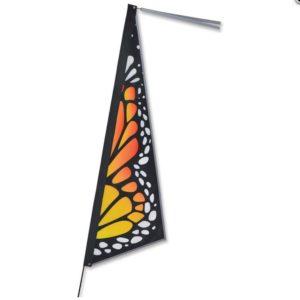 Apex Bike Flag - Monarch Butterfly